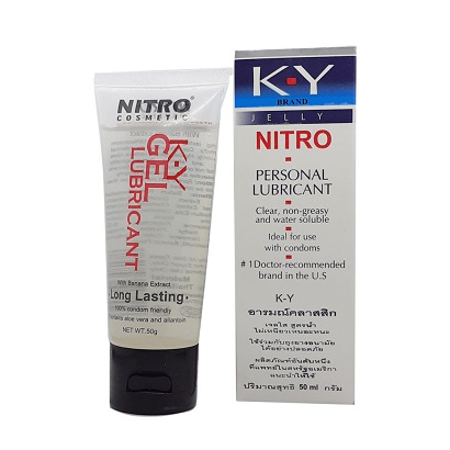 KY Jelly NITRO Personal Lubricant 50ml